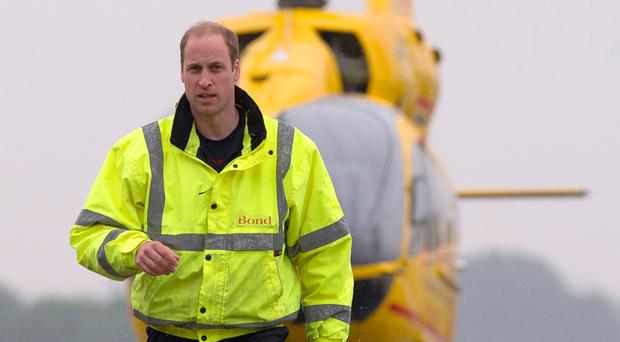 Prince William is giving up his role as a pilot with the air ambulance service in East Anglia