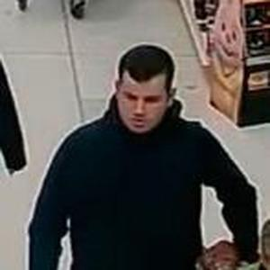 Appeal No 150/17-- Police wish to speak to this man in connection with a theft from Tesco, Lisnagelvin on 20/03/2017
