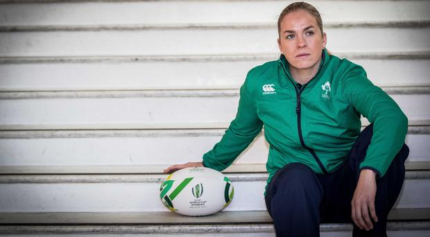 End of the World: Ireland captain Niamh Briggs will miss the home World Cup after suffering an Achilles injury in training