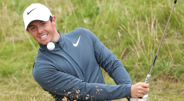 Only way is up: Rory McIlroy believes he has turned a corner ahead of his bid for WGC-Bridgestone and US PGA success. Photo: Christian Petersen/Getty Images