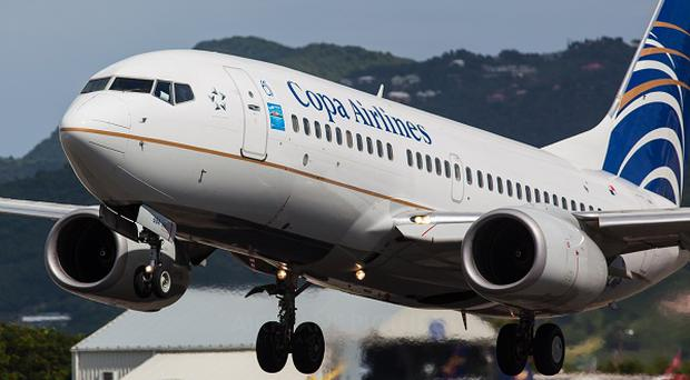 The Copa Airlines flight had landed at San Francisco Airport