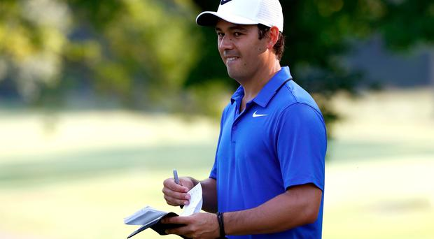 AKRON, OH - AUGUST 02: Rory McIlroy of Northern Ireland's new caddie Harry Diamond looks on during a preview day of the World Golf Championships - Bridgestone Invitational at Firestone Country Club South Course on August 2, 2017 in Akron, Ohio. (Photo by Sam Greenwood/Getty Images)