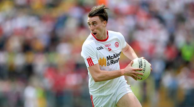 Middle man: Conall McCann will have a key role at centre-field for Tyrone against Armagh in Saturday's Croke Park encounter