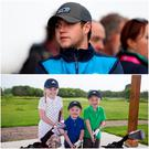 Niall Horan will be on hand to present the prize and so Faith, Seth and Norah are getting in plenty of practice for the Junior NI Open.