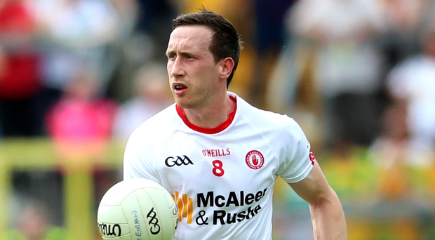 Days to remember: Colm Cavanagh is having time of his life on and off pitch. Photo: James Crombie/INPHO