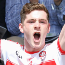Derry skipper Padraig McGrogan