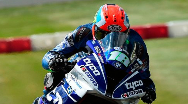On the up: Andy Reid feels he is making progress ahead of his Thruxton tilt this weekend