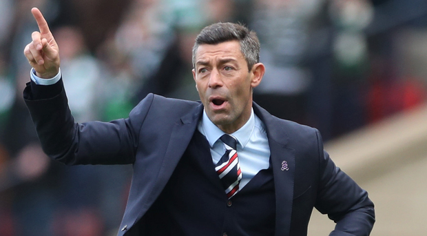 Only way is up: Pedro Caixinha has been delighted with the response of his Gers stars after their embarrassing Euro exit. Photo: Ian MacNicol/Getty Images