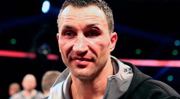 Boxing legend: Wladimir Klitschko has called it a day. Photo: Nick Potts/PA