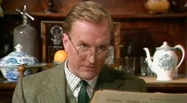 Robert Hardy in the TV classic, All Creatures Great and Small