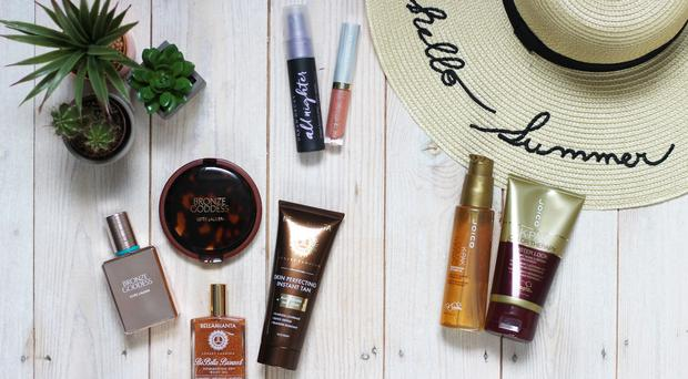 Hair and beauty essentials for the summer.