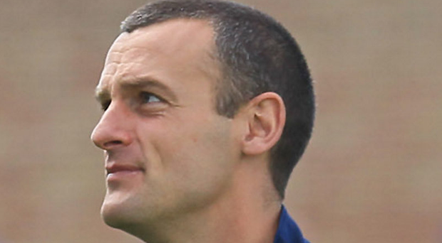 Up for it: Oran Kearney can't wait to get into league action