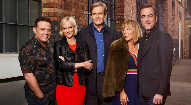 The cast of Cold Feet. (ITV)