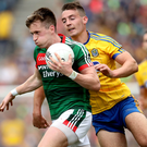 Top man: Cillian O'Connor hit 1-6 in Mayo's Croker triumph