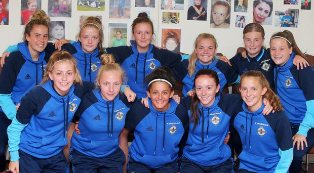 Aiming for glory: the Northern Ireland U19 Women's Team
