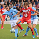 Stuck in: Michael Gault won't rest on his laurels at Showgrounds