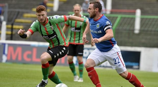 Linfield captain Jamie Mulgrew will cost you £350, while Glentoran Kym Nelson will set you back £250 in this year's BetMcLean.com Fantasy Football.