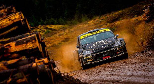 Swift Swede: Fredrik Ahlin is the top seed for next week's Ulster Rally