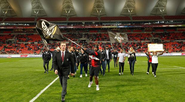 Flying the flag: Ulster will face the Southern Kings at Nelson Mandela Bay Stadium in early November