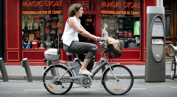 Pedal power: electric bikes are becoming more popular