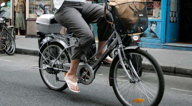 Northern Ireland is the only part of the UK where cyclists using electric bikes have to pass a driving test, buy insurance and get a motorcycle licence, it has emerged