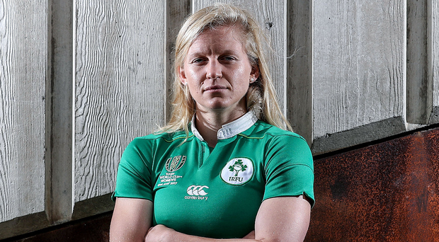 Ready for business: Claire Molloy is relishing home World Cup