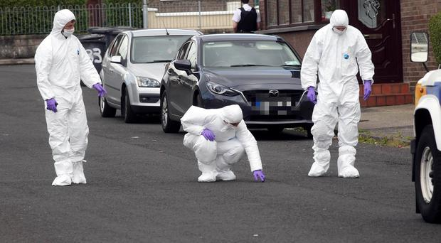 A man has been shot four times by a gang of masked men in a paramilitary-style attack in Londonderry. Press Eye Belfast - Northern Ireland 9th August 2017 Picture by Lorcan Doherty