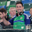 Back in the game: Colin Murray kicked off the new season along with fellow debut boys Frank Lampard and Mark Clattenburg. Photo: Jonathan Porter/Presseye