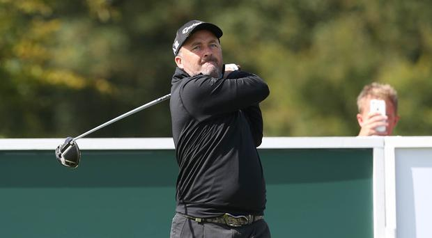 Damien McGrane will play in the Walled City of Derry Pro Am later this month.