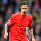 Liverpool's Philippe Coutinho.