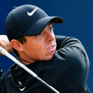 Rory McIlroy looks in fine shape with his driver.
