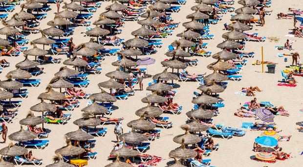 Magaluf and other sunshine destinations are still very popular with tourists