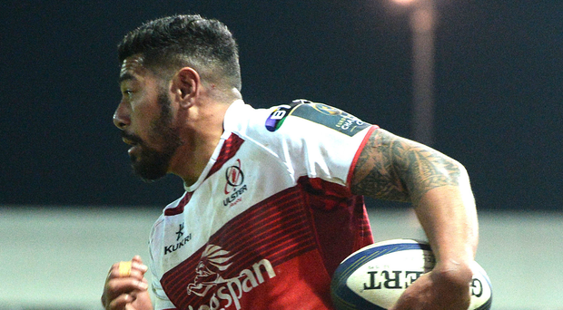 Taking off: Charles Piutau will leave Ulster for Bristol. Photo: Ben Evans/Preseye
