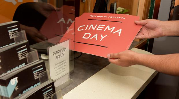 Cinema Day 2017. (Bernie McAllister)