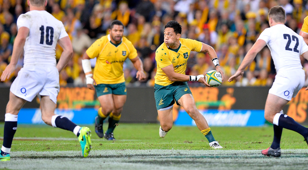 Fighter: Christian Leali'ifano has returned to the game after a battle with leukaemia