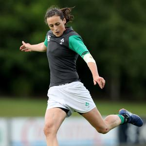 On the up: Hannah Tyrrell feels Ireland will improve