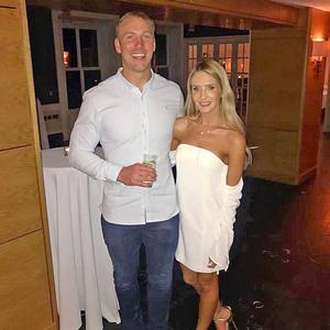 Stephen Ferris and Laura McNally