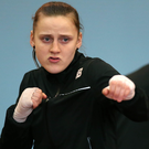 Gold medal: Michaela Walsh won 60kg final in Cascia, Italy