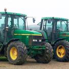 Two tractors were stolen in Ballymena