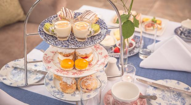 Afternoon Tea at Corick House Hotel.