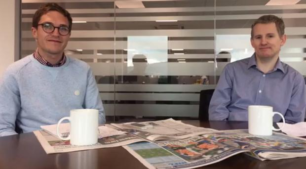 Gareth Hanna and Graham Luney sit down to discuss all the weekend's Irish League news in the first of our weekly Facebook Live shows.
