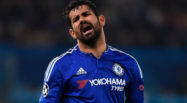 Wanting out: Diego Costa