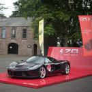 Northern Ireland car enthusiasts celebrate Ferrari's 70th anniversary.