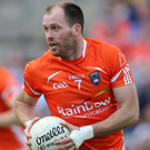 All over: Ciaran McKeever has ended his Armagh career. Photo: Cathal Noonan/INPHO