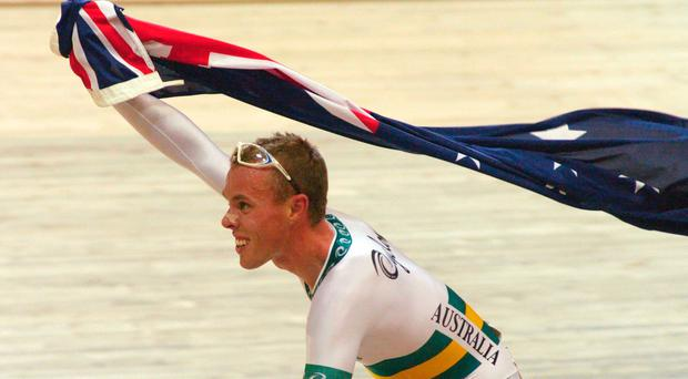 Olympic champion cyclist Steve Wooldridge who has died aged 39