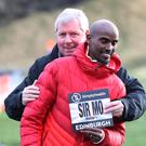Farewell: It's goodbye to Sir Mo and Lord Brendan of Gateshead