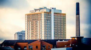 Stock Image - Dated 13th January 2016 Location - Belfast City Hospital as seen from Belfast City Centre. Photo - Kevin Scott / Belfast Telegraph