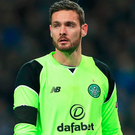 Safe: Craig Gordon is pleased with Celtic's defensive work