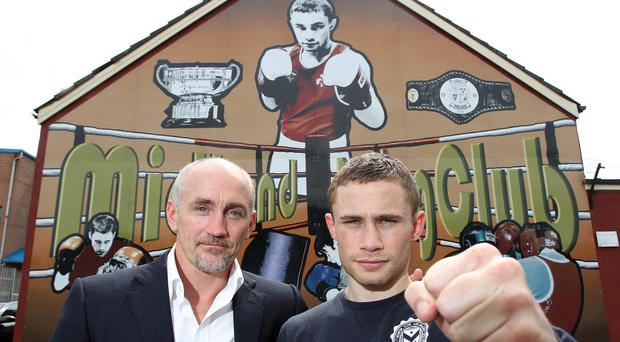 Carl Frampton v Andres Gutierrez Fight Cancelled