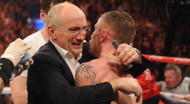 Barry McGuigan and Carl Frampton have gone their separate ways